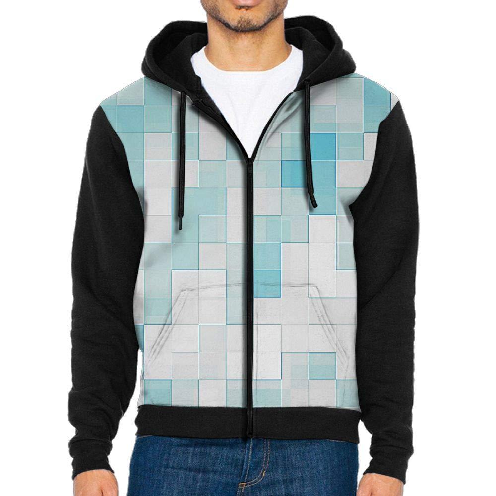 Colece Mens Casual Slim Fit Hoodie Zip-Up Long Sleeve Active Jersey Jackets