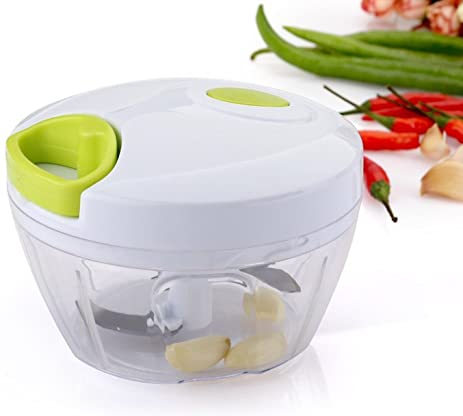 Passion Manual Food Chopper Powerful Hand Held Vegetable Chopper / Mincer /  Blender To Chop Fruits