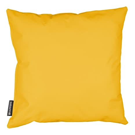 HAPPERS Cojín 60x60 Polipiel Indoor Amarillo