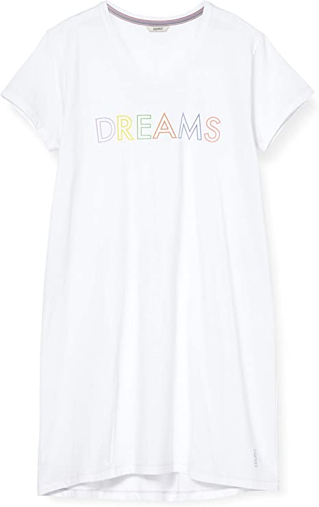ESPRIT Damen Anie Cas Nw Nightshirt Nachthemd