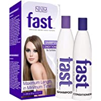 NISIM Fast Shampoo & Conditioner Twin Pack 20.28 Fluid Ounce
