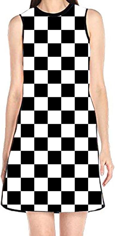 aportt Shift Dress Sleeveless Tank Dresses Happy Sea Animals Printed Beach Suit for Women