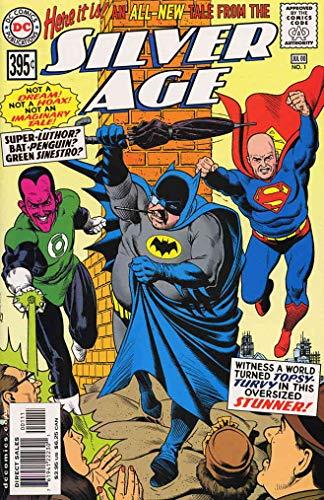 Silver Age #1 FN ; DC comic book
