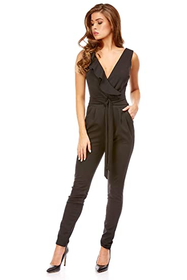detailing hot product innovative design V.I.P. PARIS Josefine Ingrid Combinaison Pantalon Cache Cœur ...