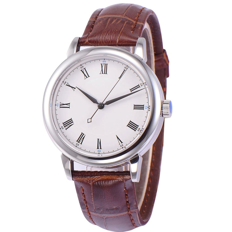 40 mm SterileダイヤルMiyota 812 A 21 Jewels自動サファイアガラスメンズ腕時計 B01LNJR266