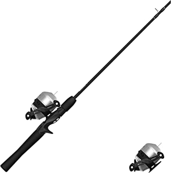 Zebco 33 Folds of Honor Spincast Reel and 2-Piece Fishing Rod Combo QuickSet ...