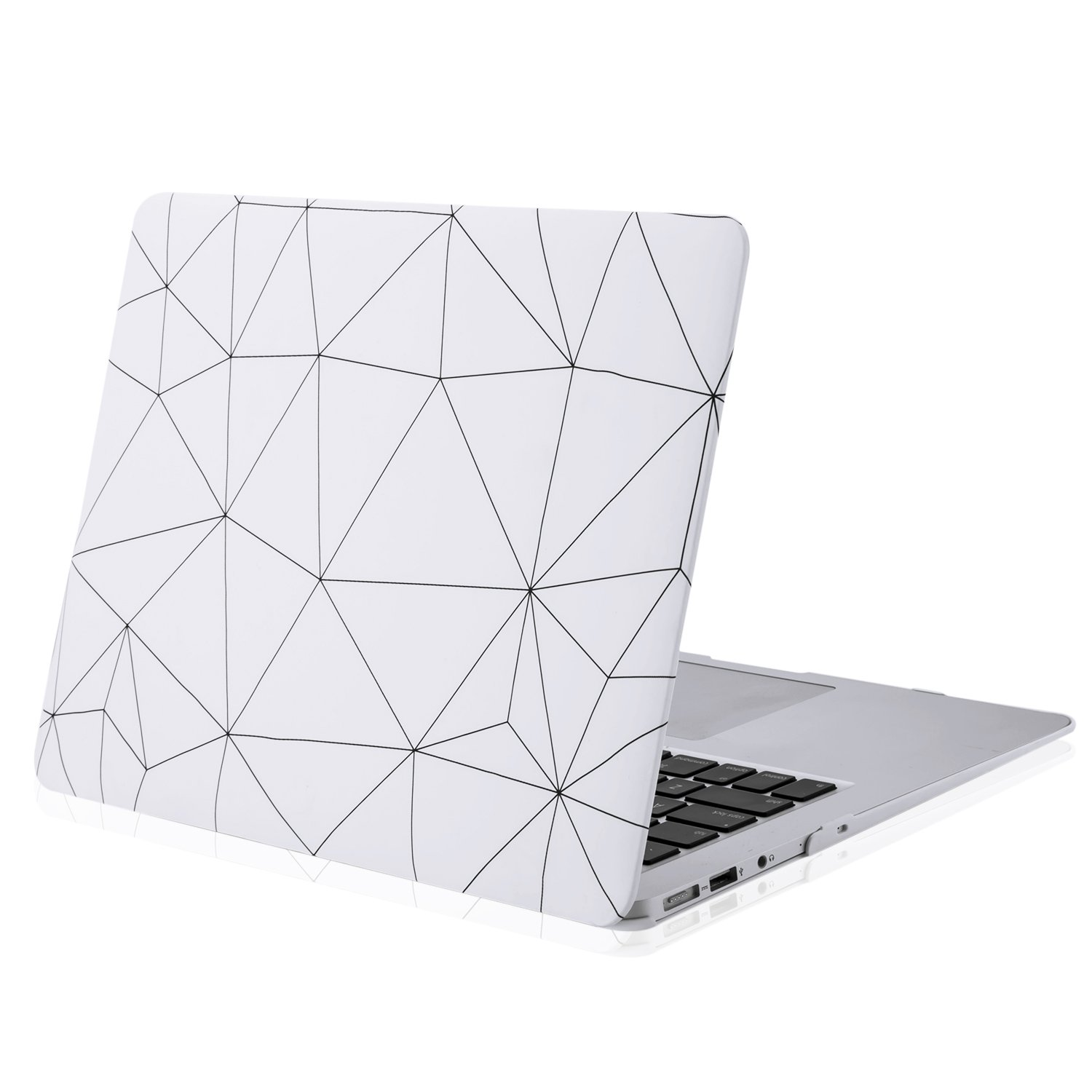 MacBook Case Plastic Hard Shell Cover for 13 Inch Apple MacBook Pro A1706/A1708 (Office Style)