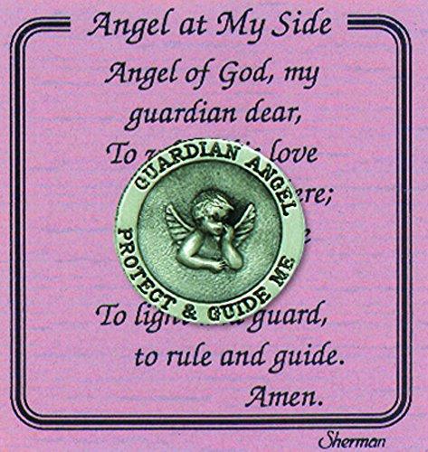 Envelope Angel (Angel At My Side Guardian Angel Pocket Coin With Card Poem in Vinyl Envelope)