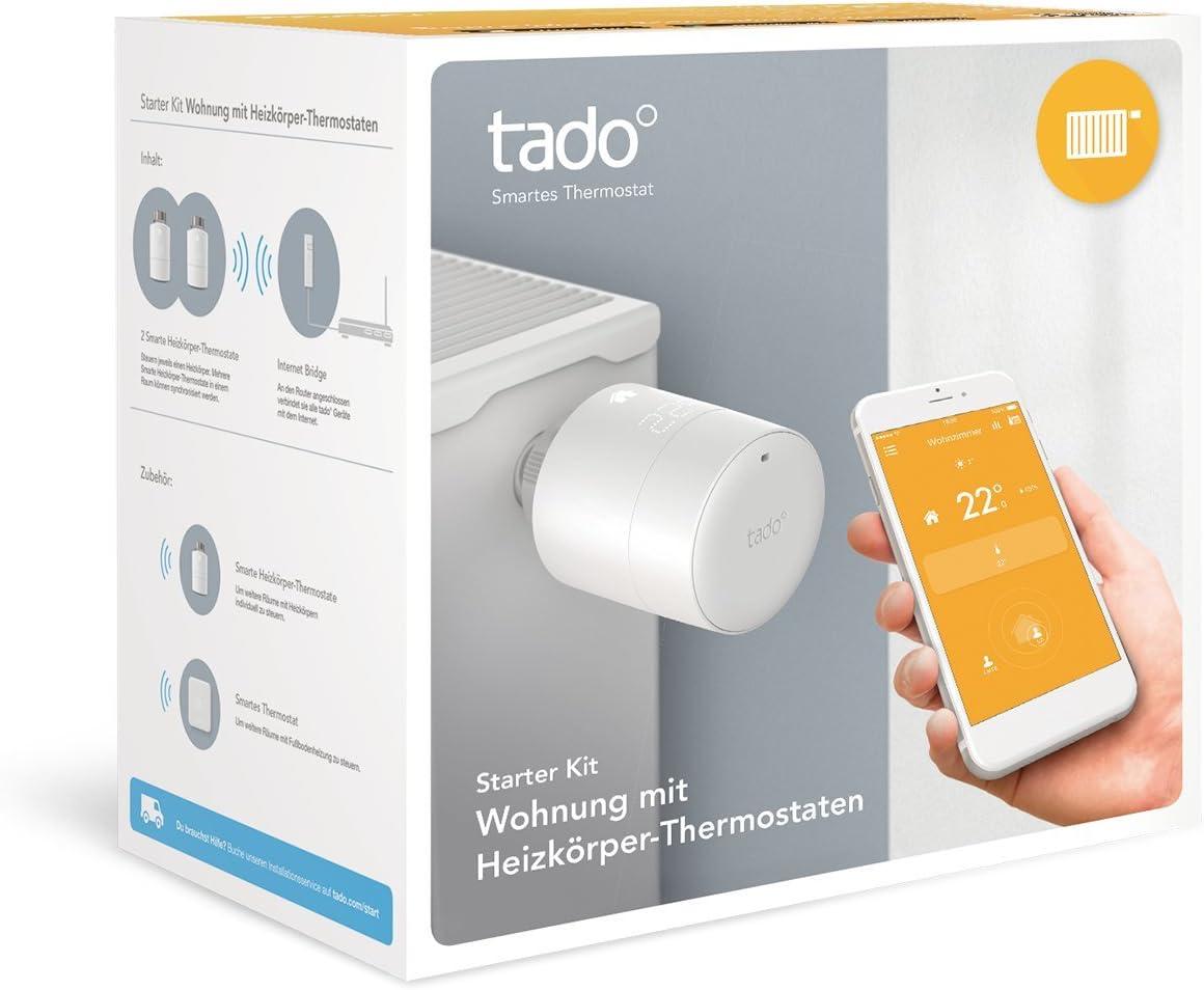 SK-ST01EK01IB01-TC-DE-03 /smartes Radiador de thermosta Blanco Tado/