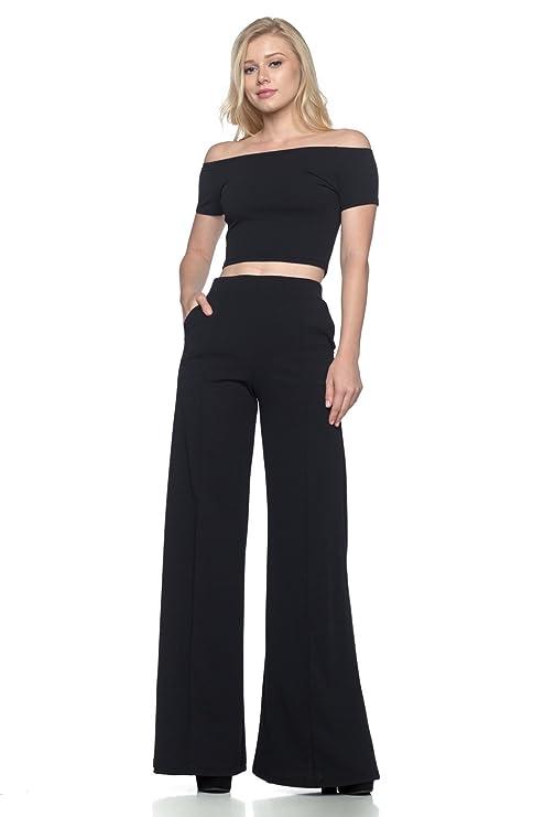 6a821dabd43 Cemi Ceri Women s J2 Love Flowing Palazzo Pants at Amazon Women s Clothing  store