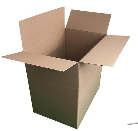 Caja de cartón para 530 x 370 x 520 mm plegable 25 unidades dimapax