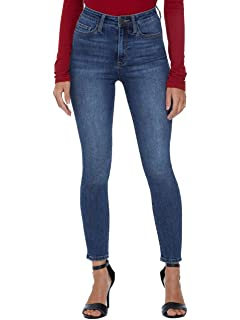 GUESS Factory Womens Beyla Curvy Mid-Rise Skinny Jeans at ...