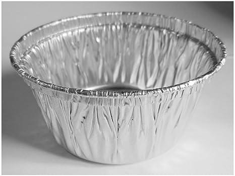 50 papel de aluminio para magdalenas Cupcake Ramekin petaca de vasos