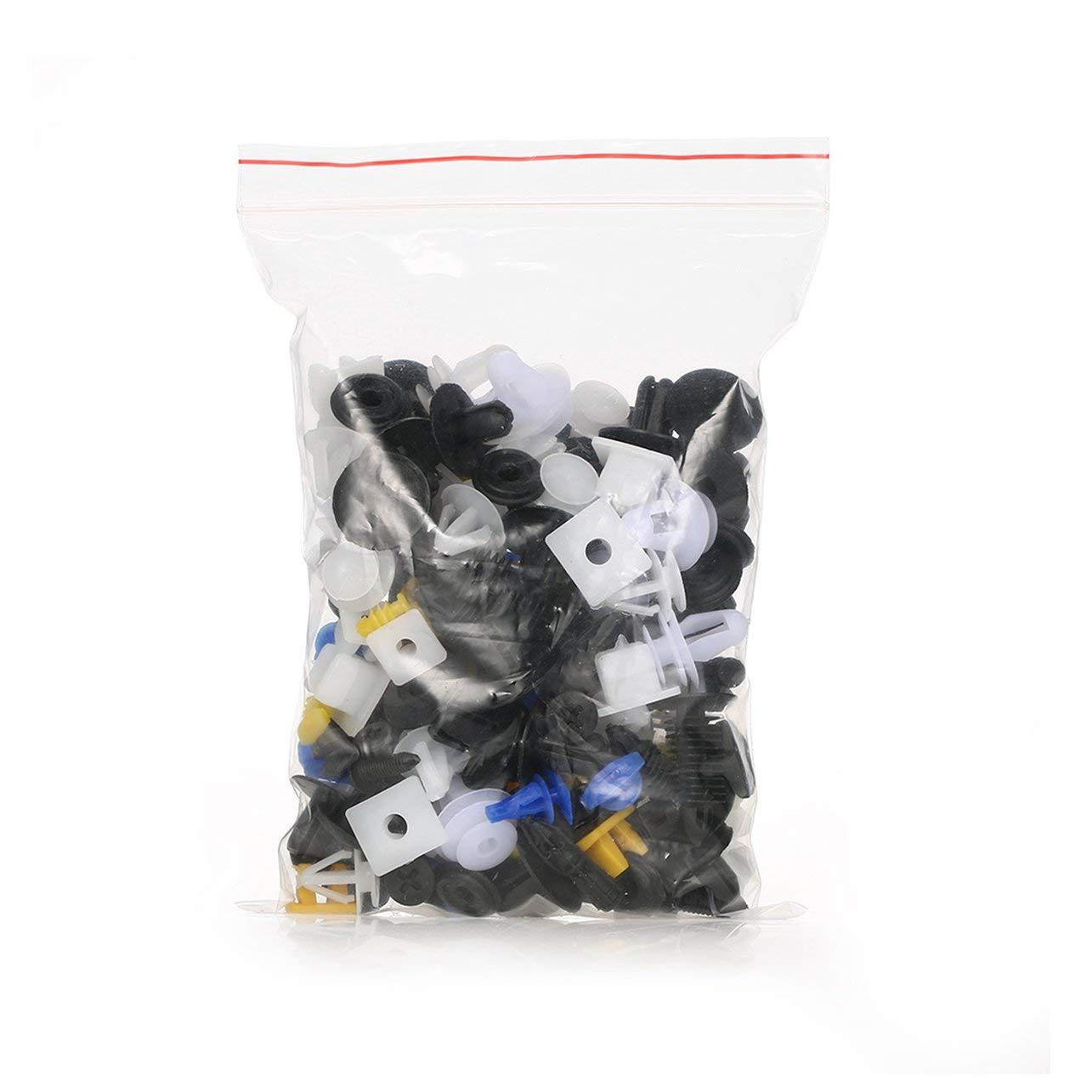 Clip di modanatura per carrozzeria auto universale Clip di fissaggio per rivetti in plastica per viti di fissaggio del pannello Kit di fissaggio