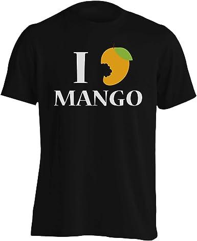Amo el Mango Camiseta de los Hombres cc135m: Amazon.es: Ropa ...