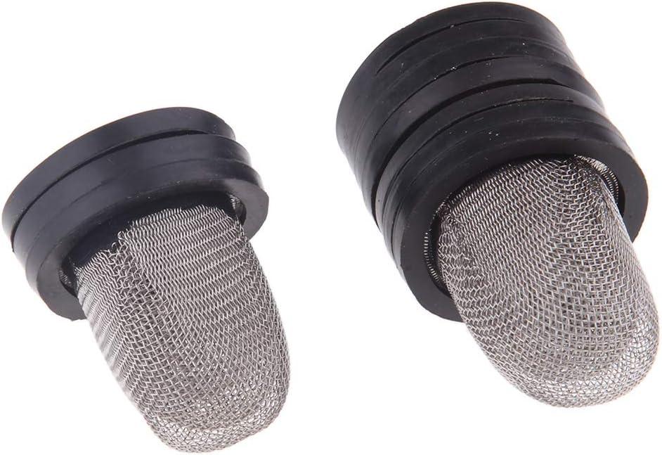 Shiwaki Stainless Steel Motorcycle Gas Fuel Tank Cover Cap Lock Keys Set Kit for Honda ZJ125 CG125 Fuel Tank Cap