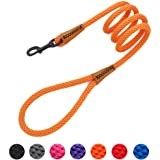 lynxking Braided Dog Rope Lead Leashes Pet Leash Dog Traction Rope Leashes Dog Walking Training Lead for Medium Large…