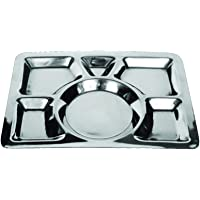 RAJ 2724570925911 Steel,Grey - Serving Trays