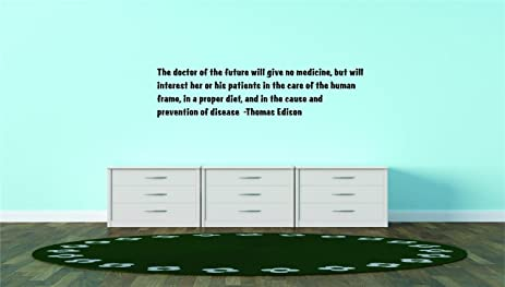 Decal Vinyl Wall Sticker The Doctor Of The Future Will Give No
