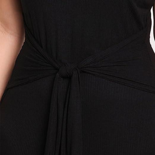 YAANCUN Mujer Escote Redondo Manga Corta Verano De Gran Tamaño La Gente Gorda De Faldas Vestido De: Amazon.es: Ropa y accesorios