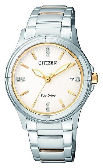 Citizen - Reloj de Pulsera analógico para Mujer Cuarzo Acero Inoxidable fe6054 - 54 A: Amazon.es: Relojes