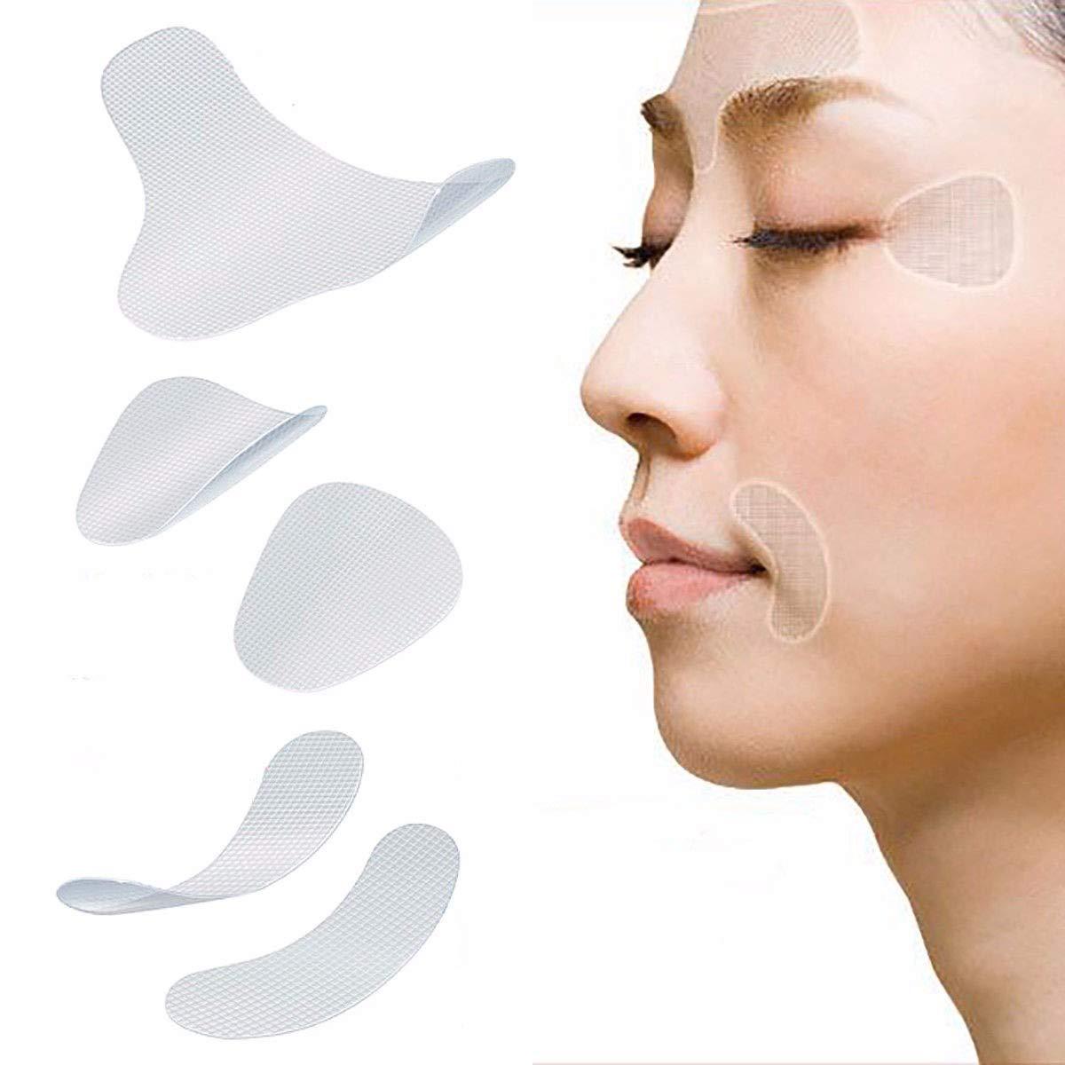 Viso Wrinkle Remover strisce viso rughe Impiattare toppe collo nastro rughe pastiglie YMCHE