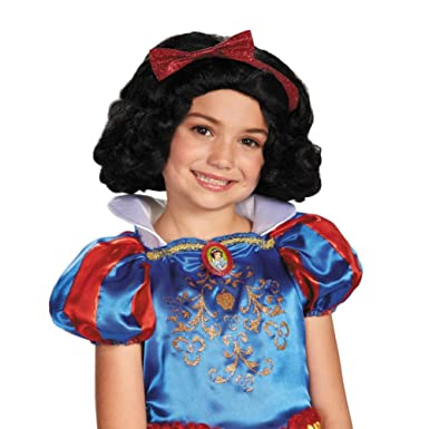 Amazon.com: Blancanieves peluca disfraz: Clothing