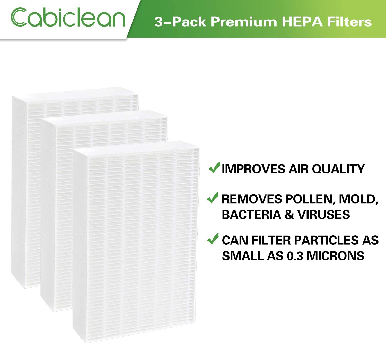 cabiclean True HEPA100 - Filtro de Repuesto Compatible con ...