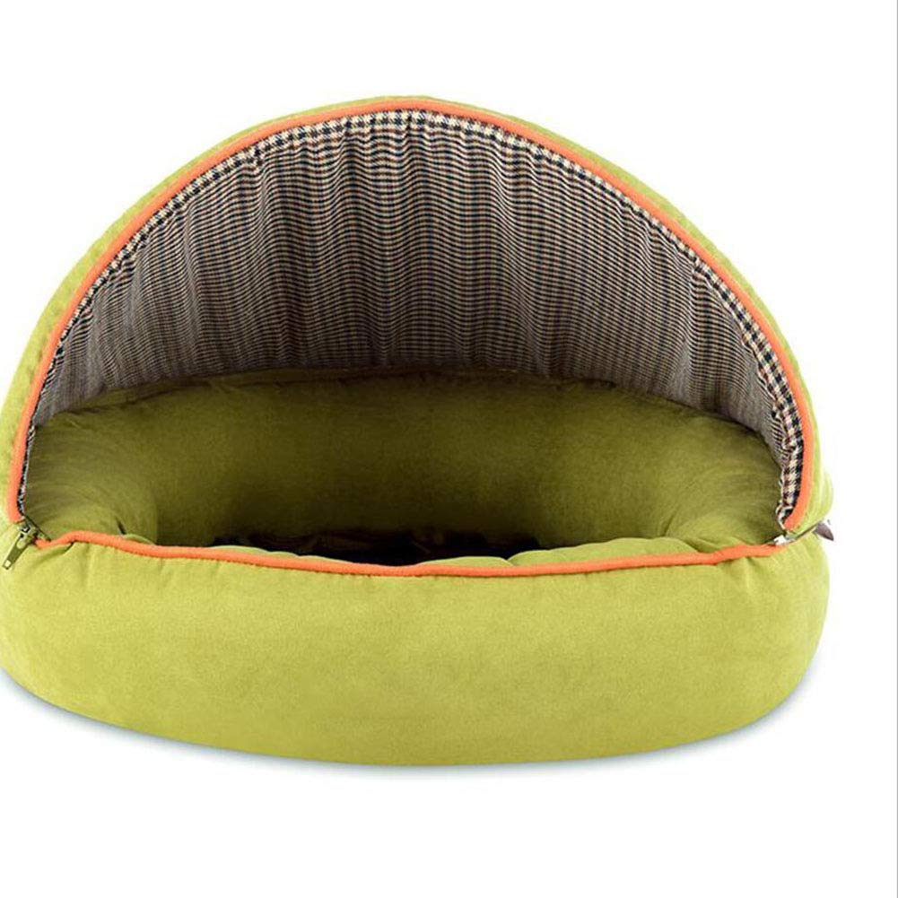 TD Pet Nest Semi-closed Kennel Small Dog Removable Washable Cat Nest