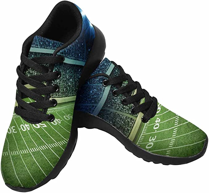 Apxoh Women Cushioning Running Shoes Doughnuts Donut Jumping with Happiness Walking Mesh Up Walking Shoes Comfortable Sneakers