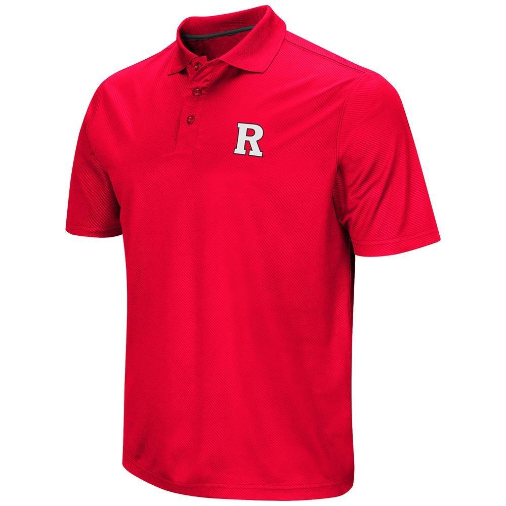メンズNCAA Rutgers Scarlet Knightsポロシャツチームカラー Small  B06WW1SGF1