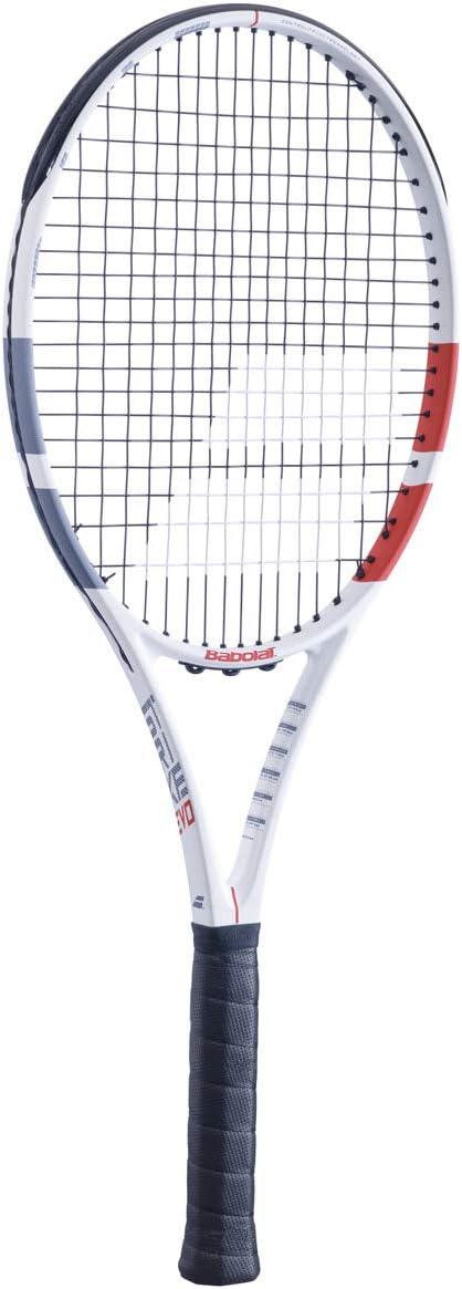 Babolat Tennis Racket Strike Evo White red Black Grip 2