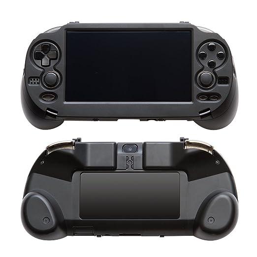 Gamepad Schutzh/ülle mit L2 R2 Trigger f/ür Sony Ps Vita 1000 Psv1000 Schwarz