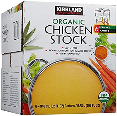 Signature Organic Chicken Stock, 32 fl. oz. , 6 Count
