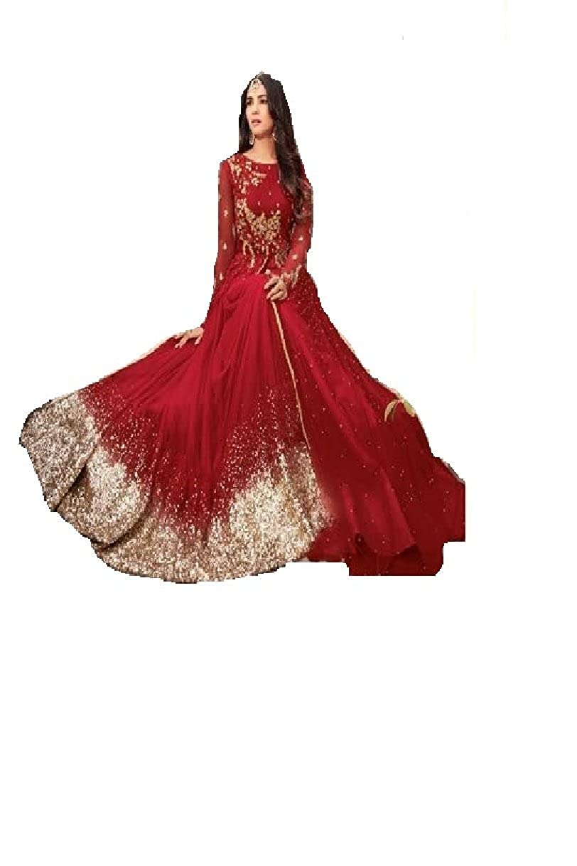 Fashion Designer Anarkali Salwar Suit for Women Maisha New 02