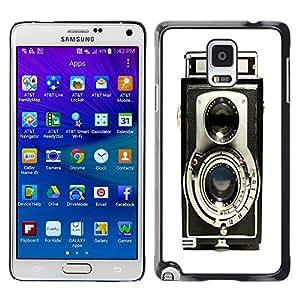 - Vintage Camera - - Fashion Dream Catcher Design Hard Plastic Protective Case Cover FOR Samsung Galaxy Note 4 Retro Candy