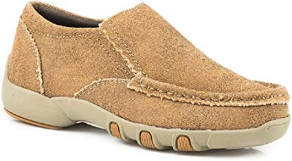 Rubber Sole Driving Moccasins Shoes