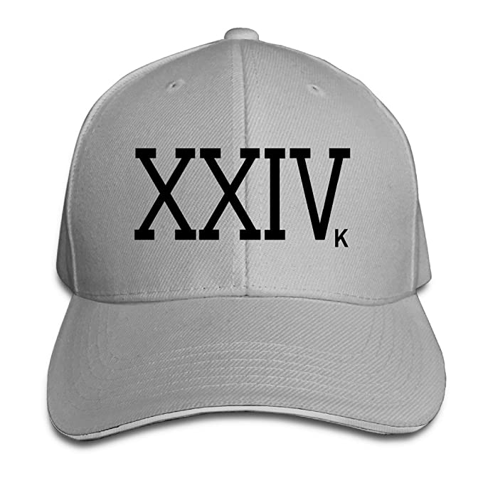 Bruno Mars 24k Magic XXIVk Logo Peaked Hat Baseball Cap  Amazon.ca   Clothing   Accessories 9cecd087417