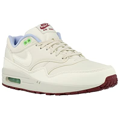 best website 45fd8 73ee1 Nike Air Max 1 FB Schuhe light bone-light bone-poison green - 42, 5   Amazon.co.uk  Shoes   Bags
