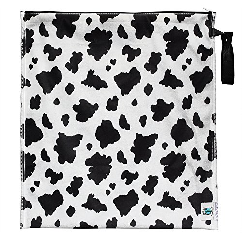- Planet Wise Large Lite Wet Bag, Moo-licious