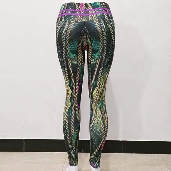 Filoviri Sra Pantalones De Deportes De Yoga Transpirable Cuerda De ...