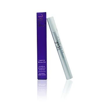 f2d0230ba87 Image Unavailable. Image not available for. Color: Amalie Wink Lash & Brow  Enhancing Oil Vegan ...