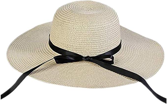 Vectry Sombrero Sombreros Mujer Verano Sombrero para Mujer ...