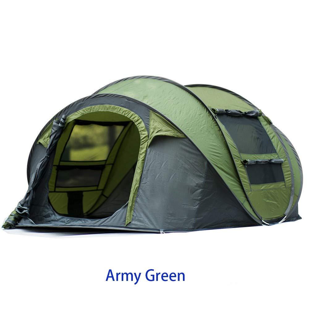MOMAMO Peak Zelt, Outdoor Pop Up Kuppelzelt Wurfzelt 4 4 4 Personen Zelt Camping Festival 280 x 200x 120 cm (Wasserdicht WS 3000 mm) B07P12RRV4 Wurfzelte Moderne und elegante Mode 9fad6a
