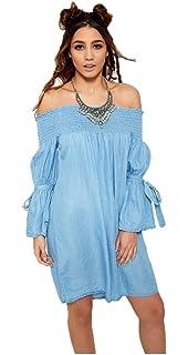 57cfd5e0fa Elum ® Womens Sheering Bandeau Boobtube Summer Maxi Dress  Amazon.co ...