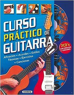 Curso Practico De Guitarra Curso Práctico De Guitarra: Amazon.es: Equipo Susaeta: Libros