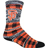 For Bare Feet Unisex SF Giants Double Plaid Socks