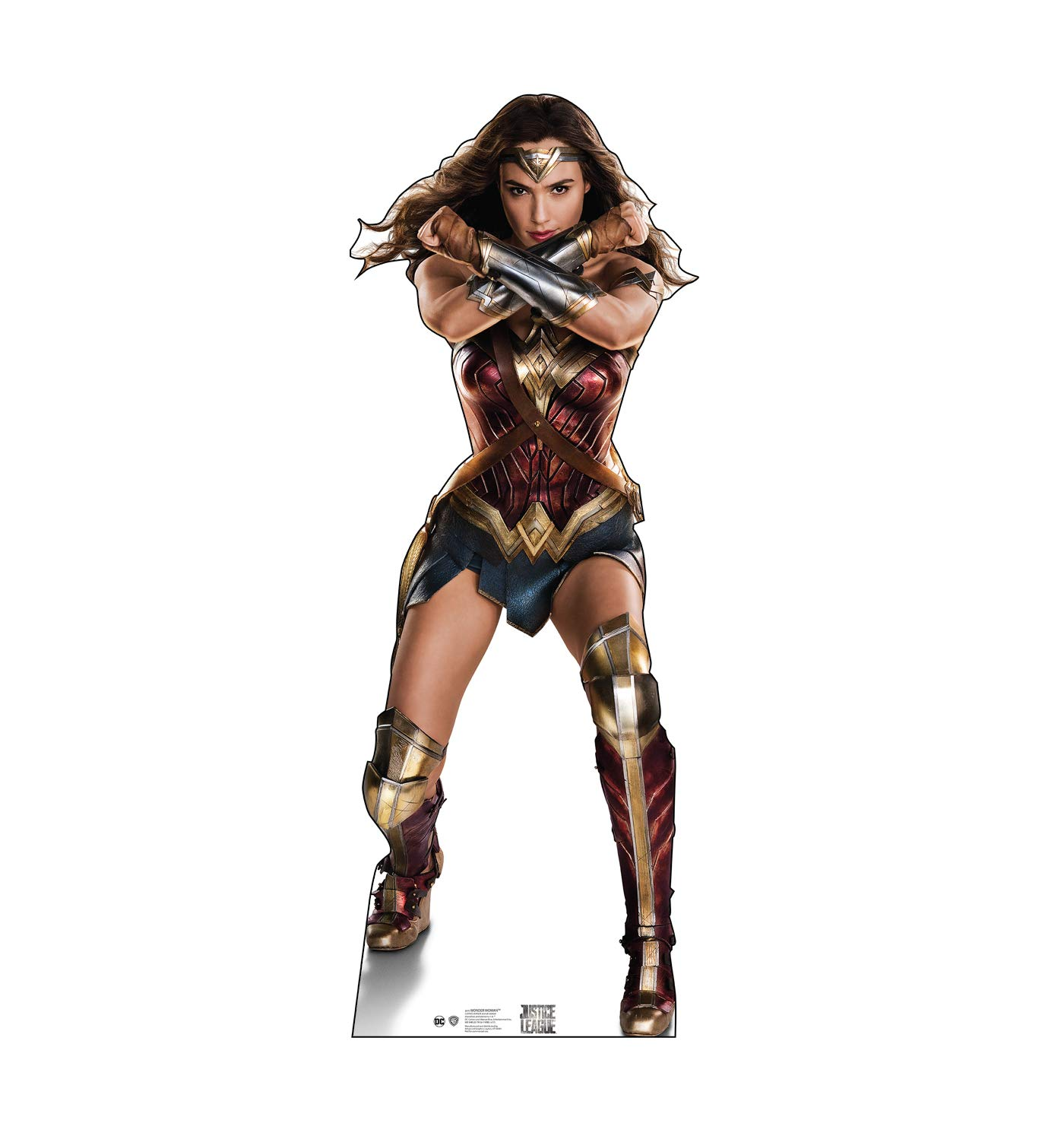 Advanced Graphics Wonder Woman Life Size Cardboard Cutout Standup - Justice League (2017 Film) by Advanced Graphics