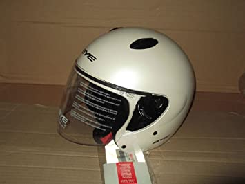 Casco Jet Moto Original Yamaha Bye Matrix Color White Talla L