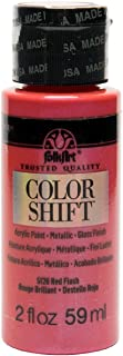 product image for FolkArt Color Shift Acrylic Paint in Assorted Colors (2 ounce), Red Flash